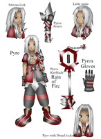 Kingdom Hearts OC Pyro by ParitSentiment