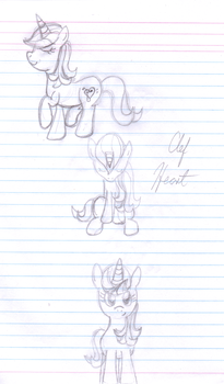 Clef Heart Sketches by Pearl2701