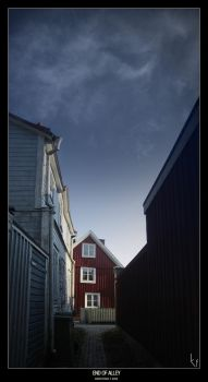 End of alley by ballisticpixels