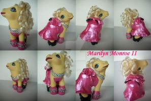 My little Pony Custom Marilyn Monroe II by BerryMouse