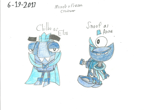 MxlsXFrozen - The Two Brothers by worldofcaitlyn