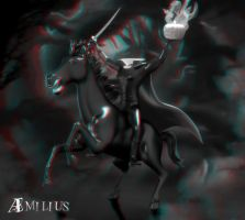 Headless Horseman (anaglyph) by aemiliuslives