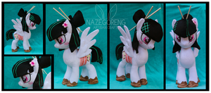 Sashimi Mimi Custom Plush by Nazegoreng