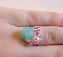 floral mini deco den ring by Stefimoose