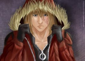 Mello again xD - Realistic by Hatake-Flor