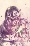 Magneto (pencils) by emmshin