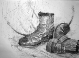 Boots - Still Life by JoshuaNel