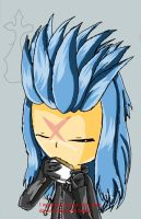 Saix - Anime Style by Uxiethecat