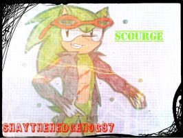 Scourge The Hedgehog by ShayTheHedgehog97