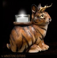 Tiger Jackalope by Reptangle