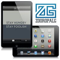 Stay Hungry, Stay Foolish, iPad by Laugend
