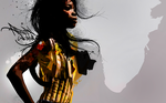 AFRICAN WOMAN by epoq