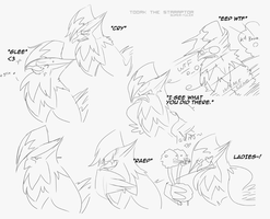 Toork the Staraptor: Emotions