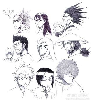 BLEACH - Keep WTFing - by Washu-M