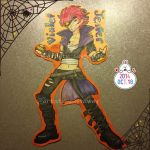 Insta  Badge Violet Jester by Galaxys-Most-Wanted