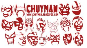 Lucha Libre brushes - Chuyman by haciendolalucha