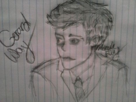 Gerard Way - Hesitant Alien by PrussianMadness1350