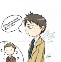 Castiel, The Angel Of The Lord by Eilyn-Chan