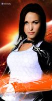 Miranda Lawson - Mass Effect 3 by AdaCroft