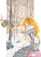 Snow Wolf by Dorotty2