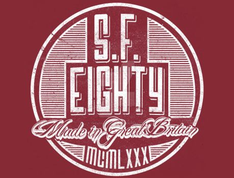 S.F. Eighty Retro Vintage Style Graphic by TheUrbanDecay