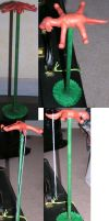 Setter necklace stand by Kamera-chan