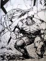 Spidey and The Hulk by SaviorsSon