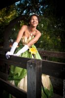 Tiana's Smile by xAleux