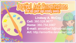 First Business Card by Annortha