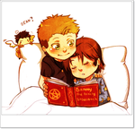 Wincest: Bed-time story by YukiHyo