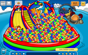 Club Penguin Bouncy Balls by DiamondDisko
