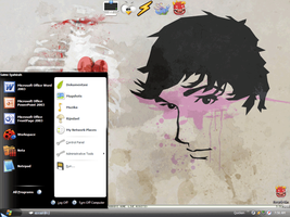 my desktop by meams