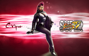 Super Street Fighter IV Viper by CrossDominatriX5