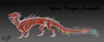 ADOPTABLE Glass dragon auction (Closed) by yamiyo