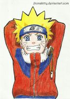 Naruto Uzumaki by jhonakitty