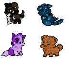 Dog adoptables by puddycat431