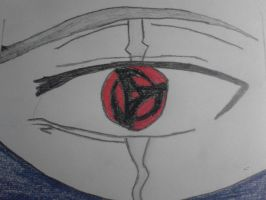 Kakashi's Sharingan by MonsterGaara