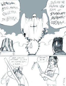 Aizen's Terrifying New Form by Garth2The2ndPower