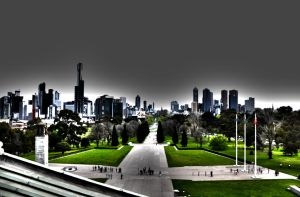 Melbourne by CRatna