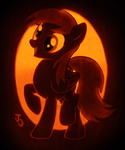 Derpy Hooves Pumpkin by johwee