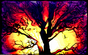 Digital Painting: The Terror Tree by UkuleleMoon