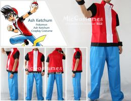 Pokemon Red Cosplay Costume by cosplayblog