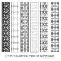 Up The Garden Trelis Patterns by AlenaJay