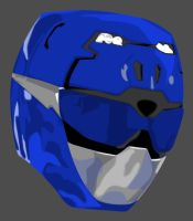 Vector Helmet: Blue GO BUSTERS by maddaluther