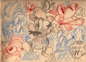 Mario Sketch Mashup by HoekKadoogen