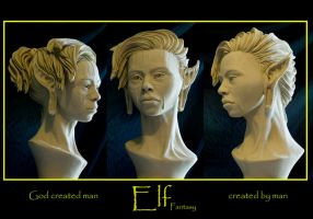 female elf l by renemarcel27