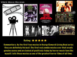VGA's Movie Reviews: George Romero's Living Dead by videogameaddict237