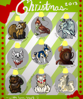 Christmas gifts 2013 by Skrayle