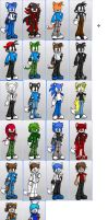 Furry Doll maker characters 2. by Blitzflame