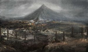 Mt. Mayon by Darkcloud013